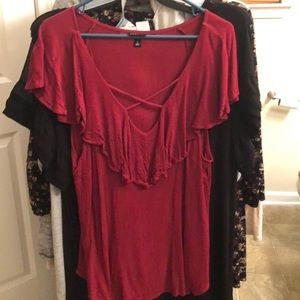 Women's plus size (18) Torrid sleeveless blouse